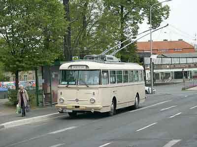 Škoda Eberswalde obus
