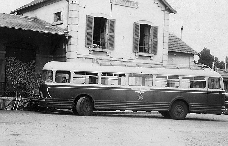 Chausson, ( Nez de cochon) moteur Somua, 45 places