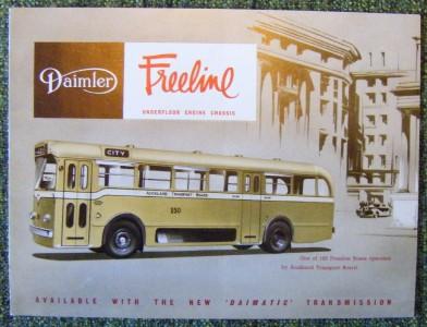 Daimler Freeline Saunders-Roe 201Brochure