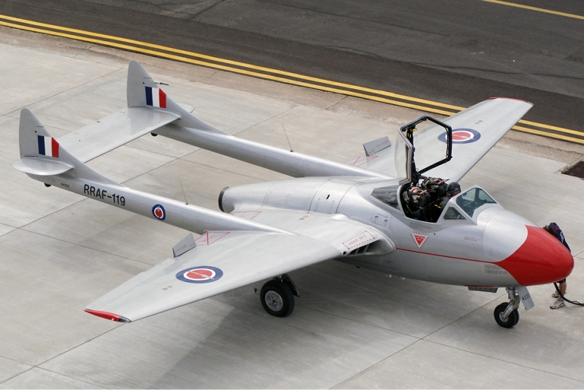 De Havilland Vampire T11 (DH-115) Point Cook Vabre