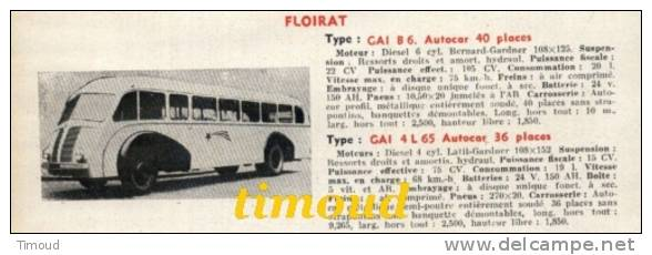 Floirat CAI B 6 CAI 4 L 65