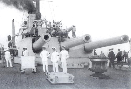 Gun turret on SMS Tegetthoff