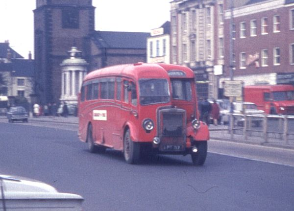 Gurney Nutting C33F bodied Leyland Tiger PS1-1