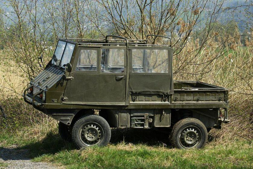 Haflinger geproduceerd door Steyr-Daimler-Puch.