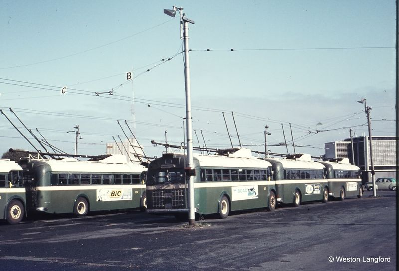 Hay Street East Trolley Bus Depot Sunbeam Trolleybuses 854