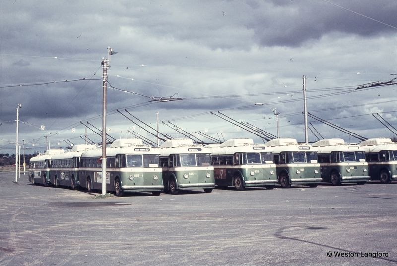 Hay Street East Trolley Bus Depot Sunbeam Trolleybuses 859a