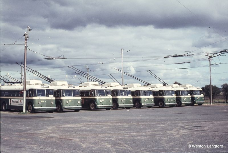 Hay Street East Trolley Bus Depot Sunbeam Trolleybuses 859b