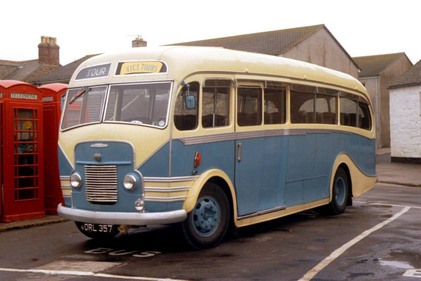 Kenex bodied Austin DRL357 on the Isles of Scilly