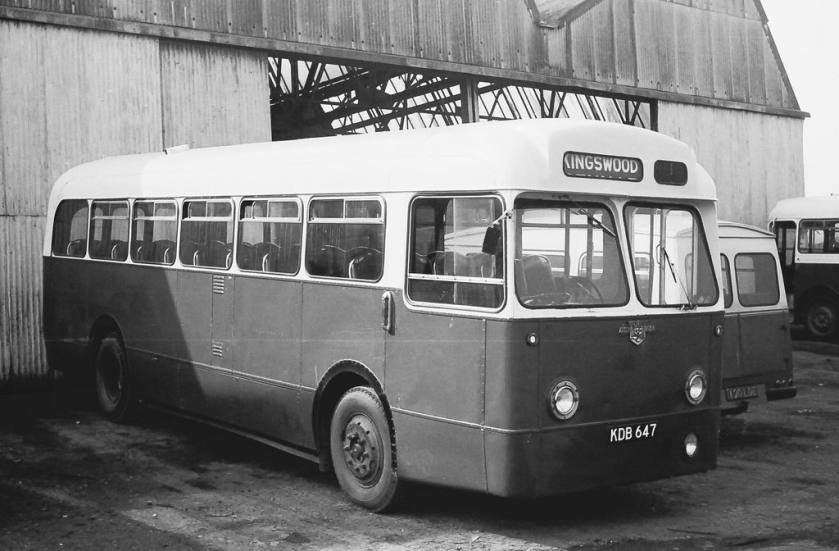 Kenex bodied Austin LD 14-seaters