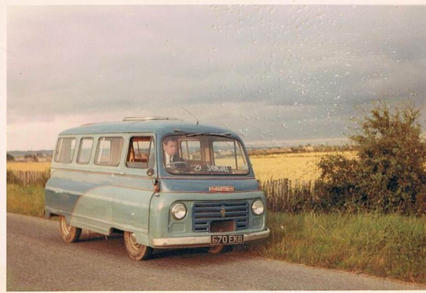 Kenex conversion of a Bedford van b