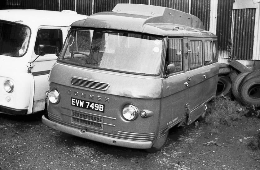 Kenex-converted Commer 12 seater