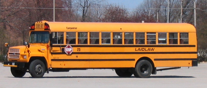 Laidlaw schoolbus