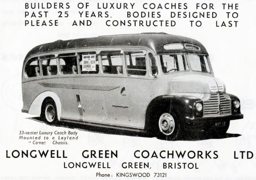 Longwell Green Ltd Ad