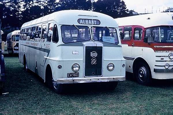 Orewa Transport 2 was a Seddon Mk6-2 with Pennine Coach Craft B34+17D body