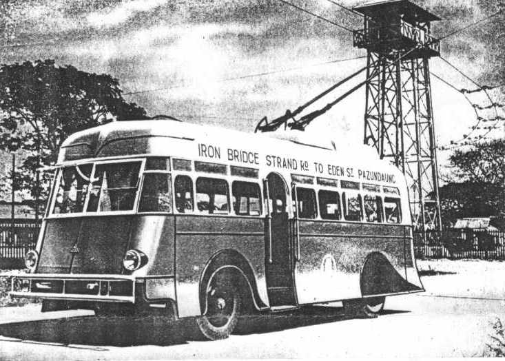 Rangoon Sunbeam Trolleybus