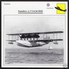 SAUNDERS A.3 A3 VALKYRIE Airplane