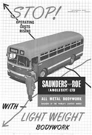 Saunders Roe ad