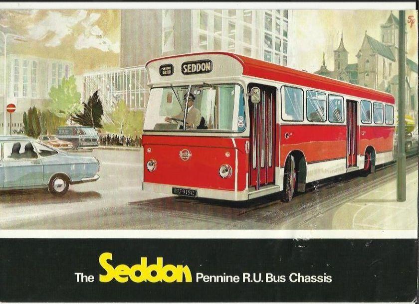 Seddon Pennine RU Bus Chassis