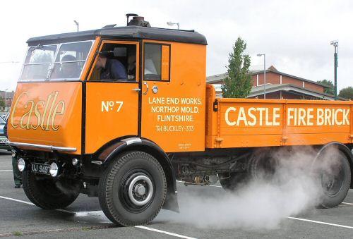 Sentinel lorry