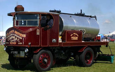 Sentinel Steam Truck Tanker