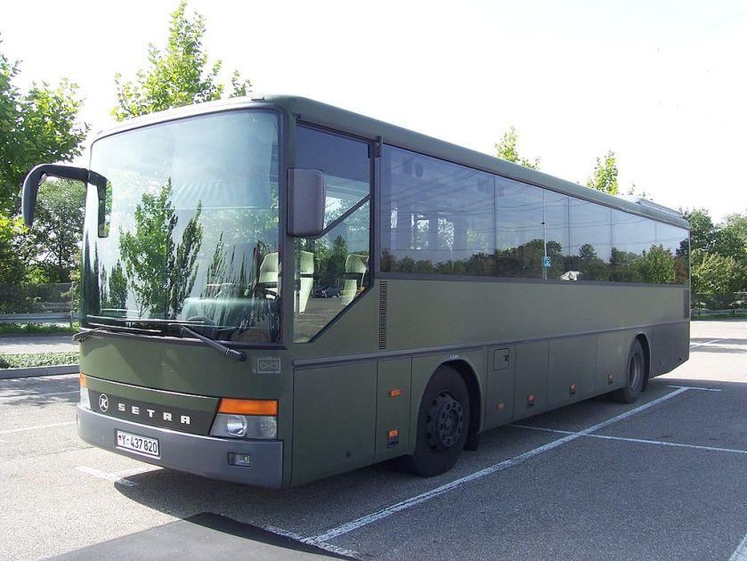 Setra Bus der Bundeswehr