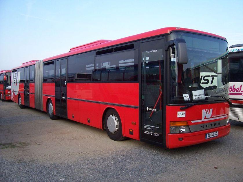 Setra Bus Mannheim 100