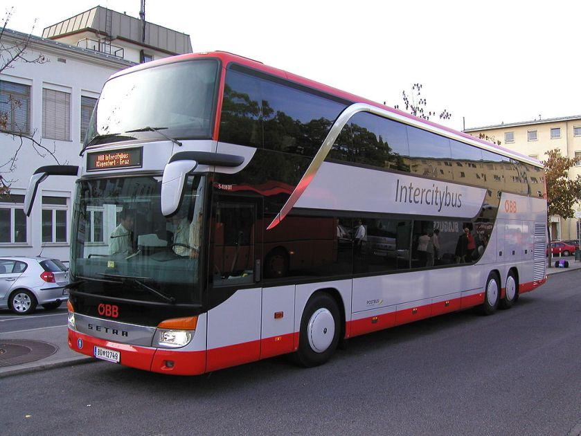 Setra -Intercitybus Graz-Klagenfurt