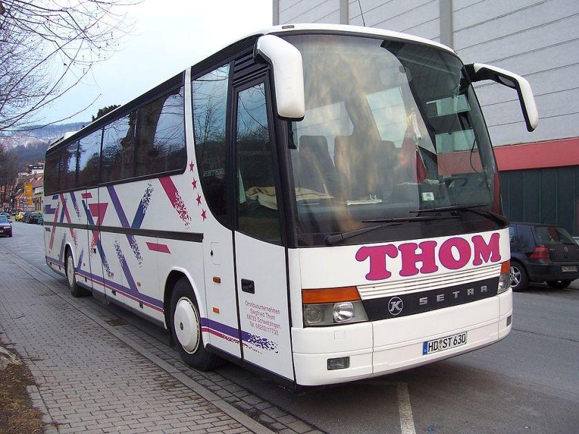 Setra Reisebus Weinheim 100 3617