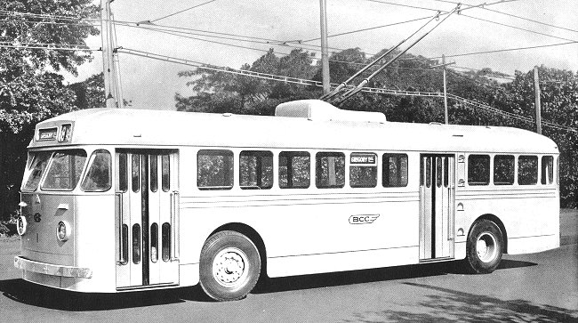 single deck Sunbeam trolleybuses used in Brisbane