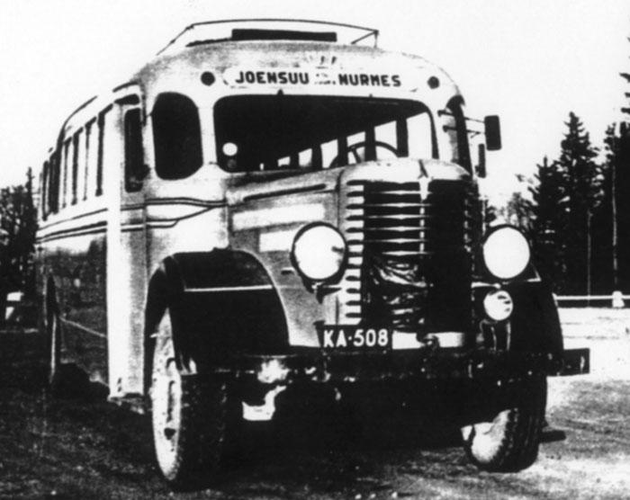 Sisu bus Joensuu-Nurmes