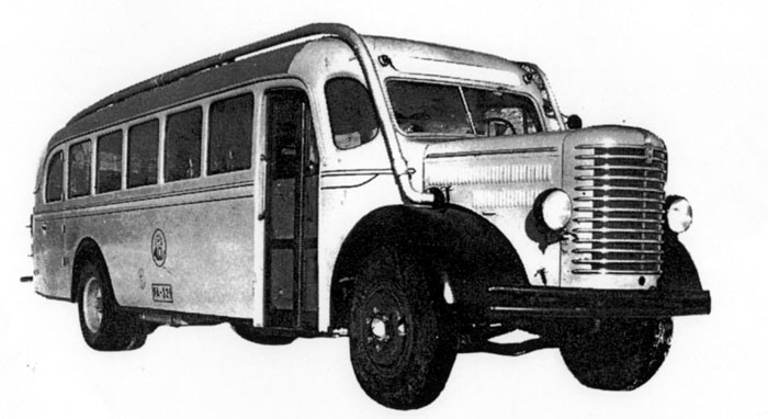 Sisu S-15 post bus