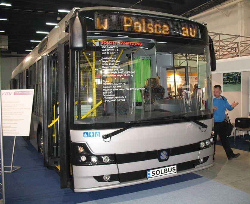 Solbus Solcity 12 LNG in Kielce