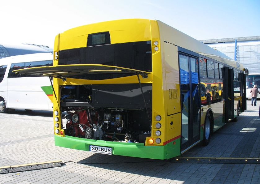 Solbus Solcity 12 LNG rear - engine