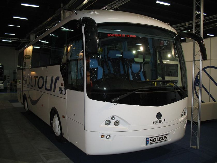 Solbus Soltour 10 RHD in Kielce