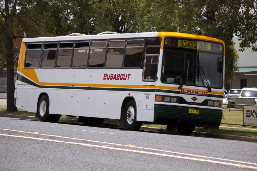 Spartan Busabout Wagga Custom Coaches '510' bodied Spartan TB275
