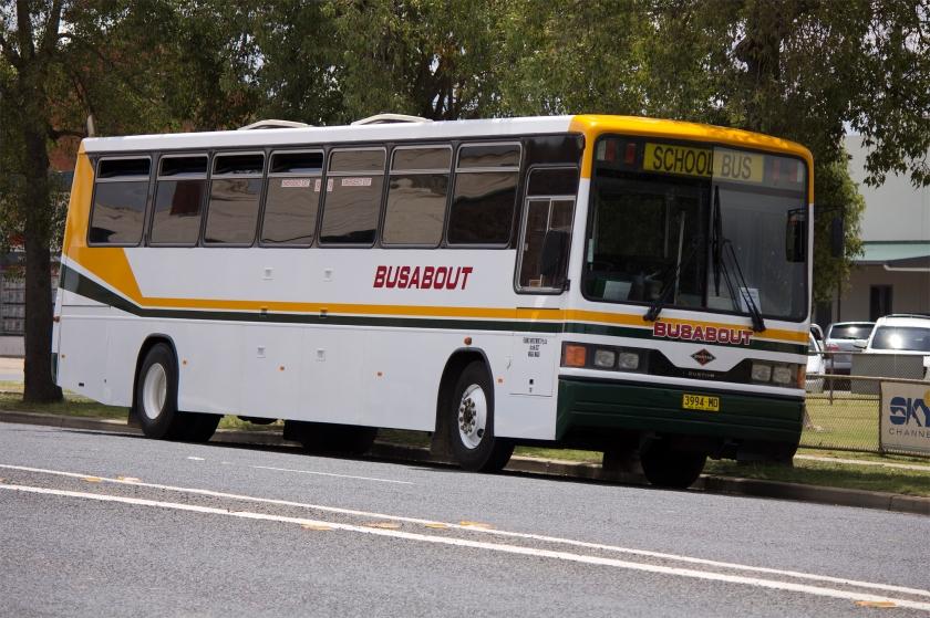 Spartan Busabout Wagga Custom Coaches '510' bodied Spartan TB275