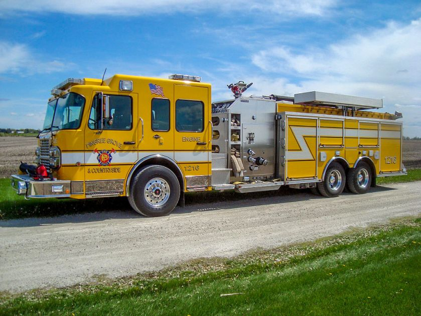 Spartan Gladiator - Pingree Grove Fire Protection District - Pingree Grove, Illinois