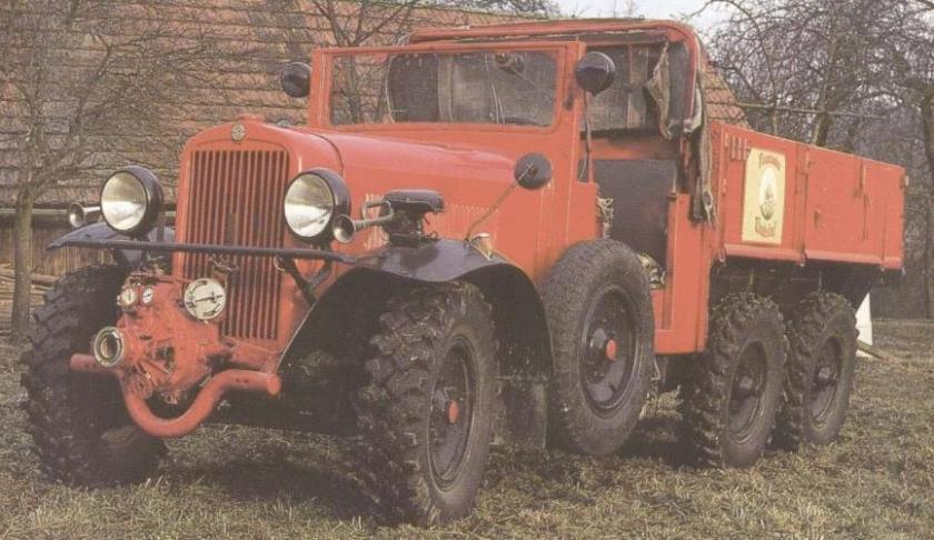 Steyr-640 cargo truck