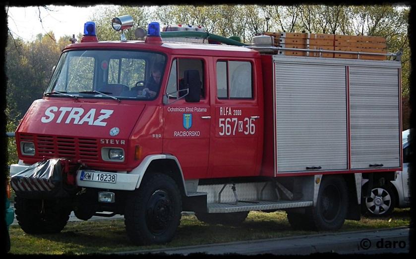 Steyr 690 4WD-Rosenbauer