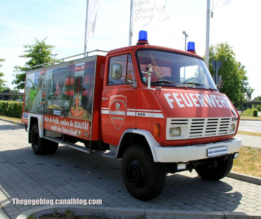 Steyr 690 Feuerwehr