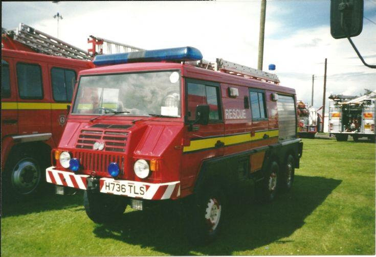 Steyr BP Grangemouth H736TLS
