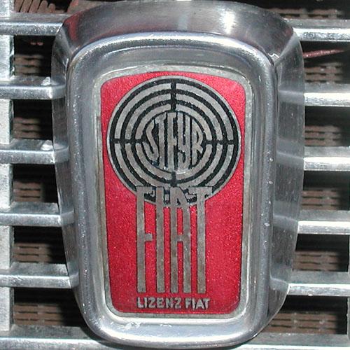 Steyr-Fiat-Automarken-Logo