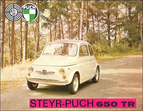 Steyr-Puch 650-750TR CZ