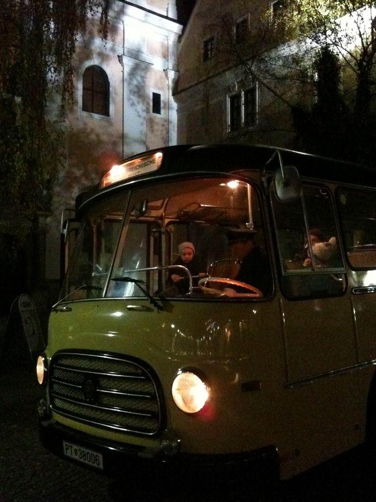 Steyr Saurer Postbus im film