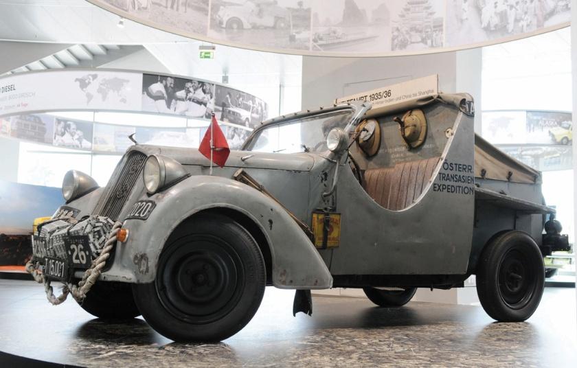 """""""Bis ans Ende der Welt...""""/DKW F5 Meisterklasse, Baujahr 1935"""