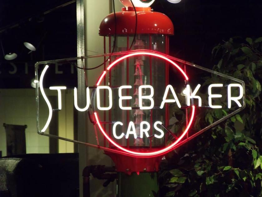 Studebaker Dealer Neon