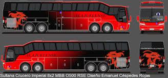 Sultana Bus MBB O500 RSE