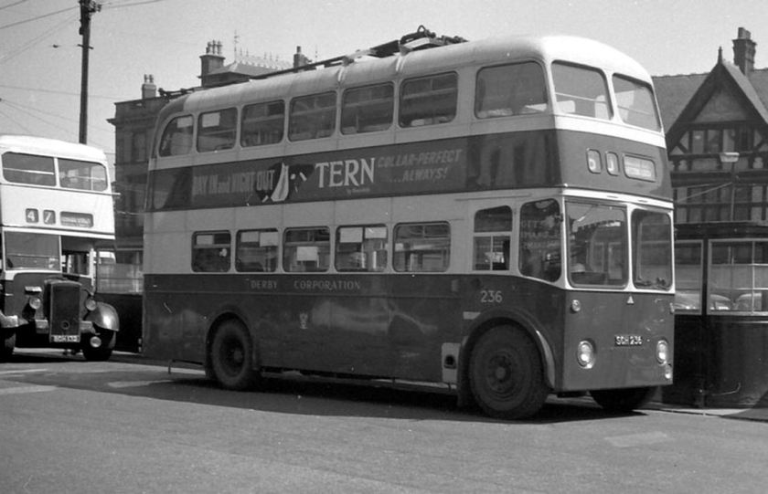 Sunbeam Derby Corporation Trollybus Sunbeam F4A