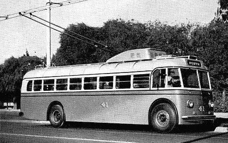 Sunbeam Trolleybus Western Australian Government Tramways Perth 8