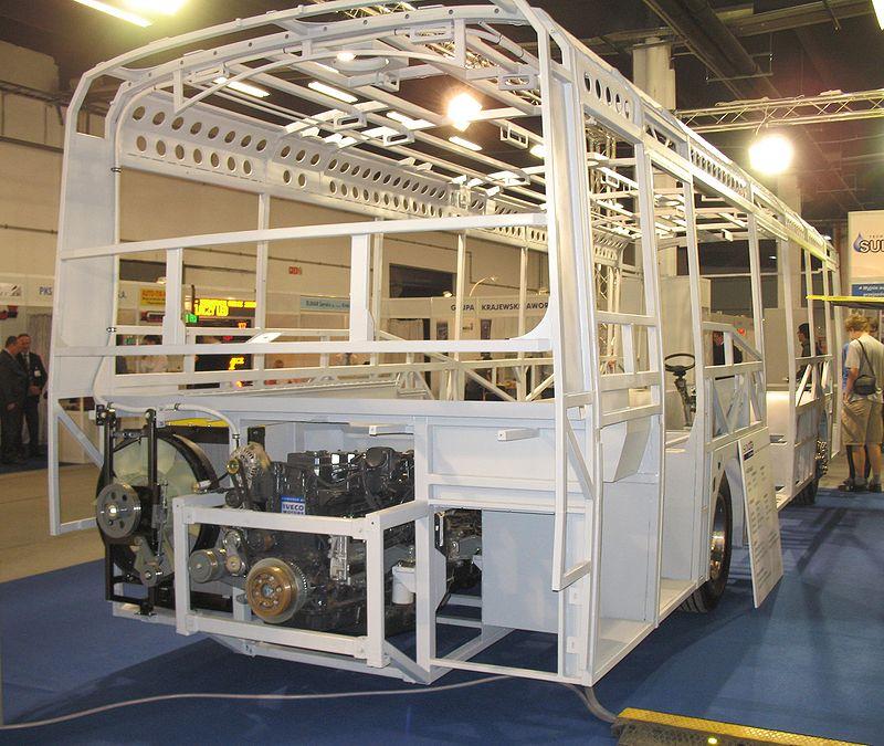 Szkielet Solbus Solcity SubUrban 10 - rear